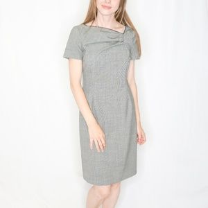 RED Valentino Dresses - RED VALENTINO Micro Houndstooth Dress Career 0424
